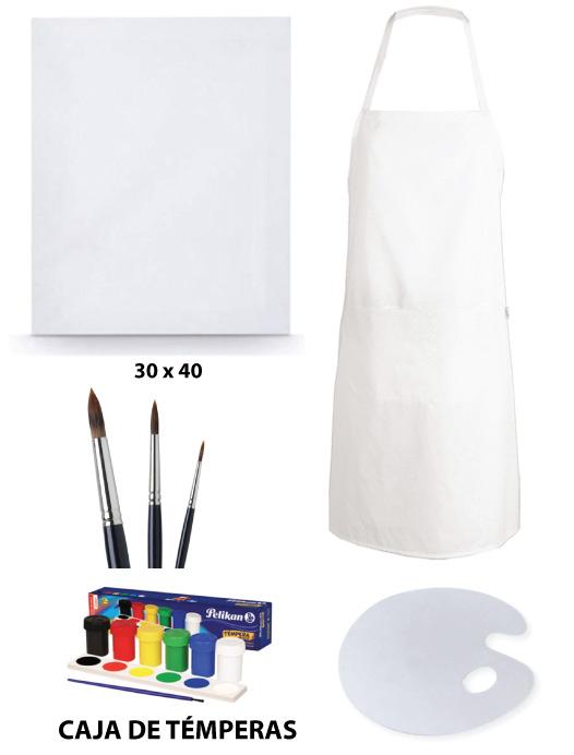 kit de pinturas online a domicilio temperas